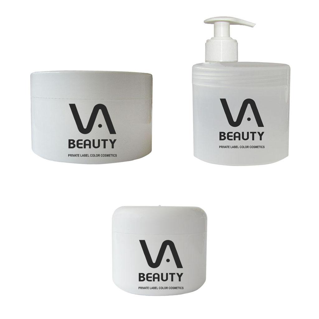 Body cream package white